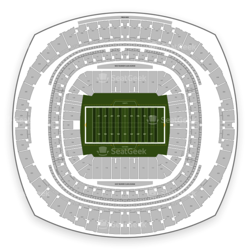 Mercedes Benz Superdome Seating Chart Map Seatgeek Rh Seatgeek Com Mercedes  Benz Stadium Minecraft Mercedes Benz Stadium Atlanta