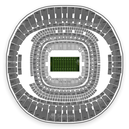 Mercedes-Benz Superdome Seating Chart