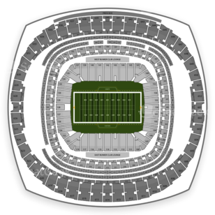 Mercedes-Benz Superdome Seating Chart NCAA Football