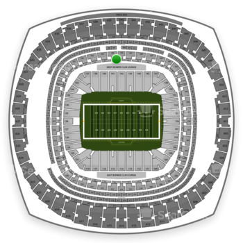 New Orleans Saints at Mercedes-Benz Superdome Section 263 View