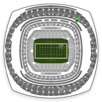New Orleans Saints at Mercedes-Benz Superdome Section 555 View