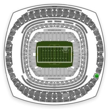 New Orleans Saints at Mercedes-Benz Superdome Section 605 View