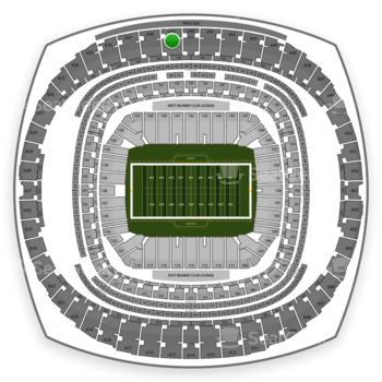 New Orleans Saints at Mercedes-Benz Superdome Section 639 View