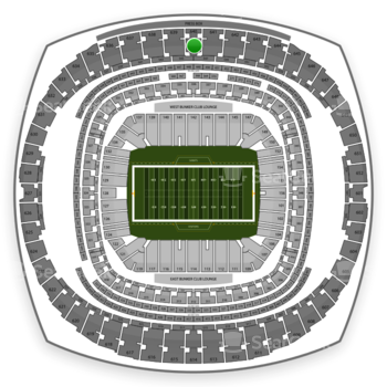 New Orleans Saints at Mercedes-Benz Superdome Section 640 View