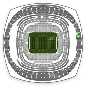 New Orleans Saints at Mercedes-Benz Superdome Section 651 View
