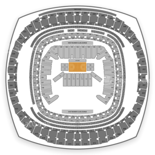 Mercedes-Benz Superdome Seating Chart NBA