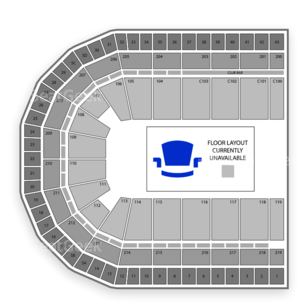 Chicago Bliss Seating Chart