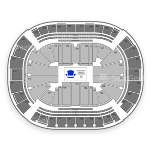 Toyota Center Seating Chart MMA