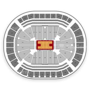 Houston rockets seating chart interactive map seatgeek