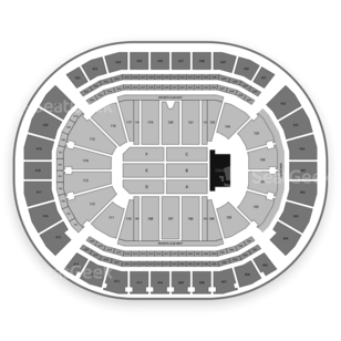 Toyota Center Seating Chart Concert