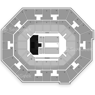 UNO Lakefront Arena Seating Chart Comedy