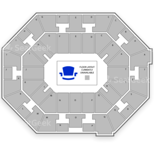 UNO Lakefront Arena Seating Chart Music Festival