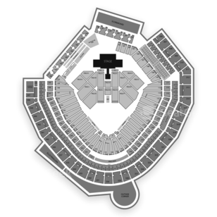 Safeco Field Seating Chart Concert