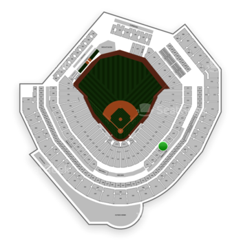 Seattle Mariners at T-Mobile Park Section 222 View