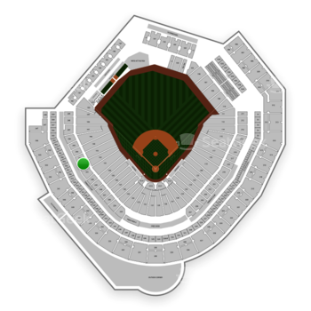 Seattle Mariners at T-Mobile Park Section 242 View