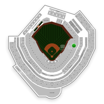 Seattle Mariners at T-Mobile Park Section 115 View