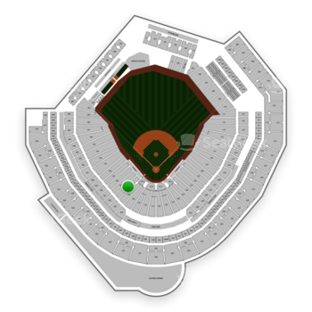 Seattle Mariners at T-Mobile Park Section 136 View