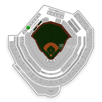 Seattle Mariners at T-Mobile Park Section 182 View