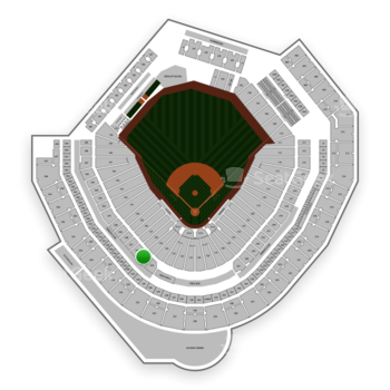 Seattle Mariners at T-Mobile Park Section 234 View