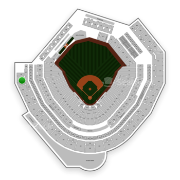 Seattle Mariners at T-Mobile Park Section 346 View