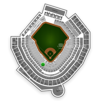 MLB at Safeco Field Section 135 View
