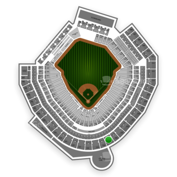 MLB at Safeco Field Section 327 View