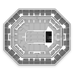 US Airways Center Seating Chart Concert