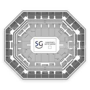 US Airways Center Seating Chart Boxing