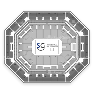 US Airways Center seating chart Marvel Universe Live