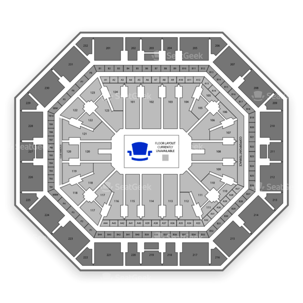 Talking Stick Resort Arena Seating Chart Concert