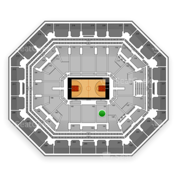 Phoenix Suns at US Airways Center Section 101 View