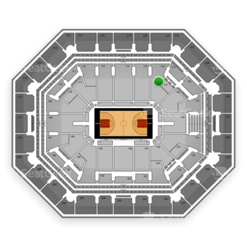 Phoenix Suns at US Airways Center Section 116 View