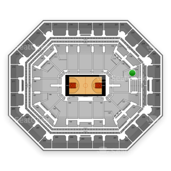Phoenix Suns at US Airways Center Section 119 View