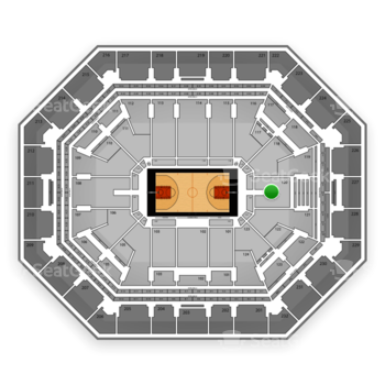 Phoenix Suns at US Airways Center Section 120 View