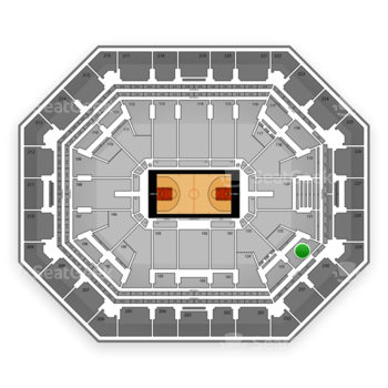 Phoenix Suns at US Airways Center Section 122 View