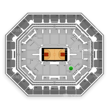 Phoenix Suns at US Airways Center Section 123 View