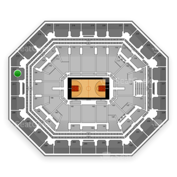 Phoenix Suns at US Airways Center Section 212 View
