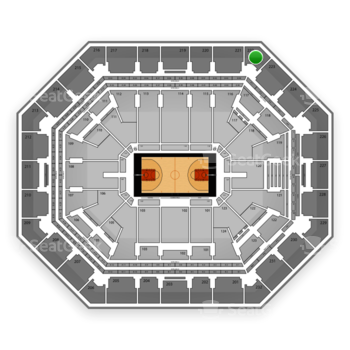 Phoenix Suns at US Airways Center Section 222 View