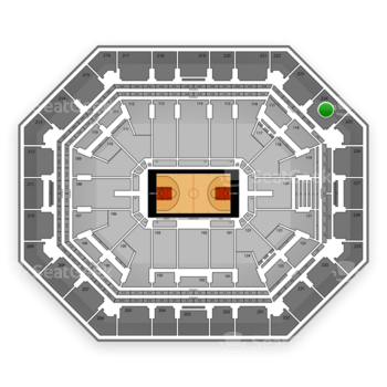 Phoenix Suns at US Airways Center Section 224 View