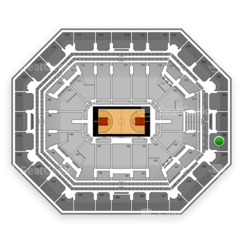 Phoenix Suns at US Airways Center Section 228 View