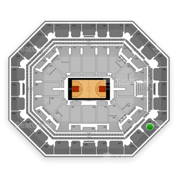 Phoenix Suns at US Airways Center Section 230 View