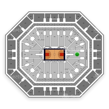 Phoenix Suns at Talking Stick Resort Arena Section 108 View