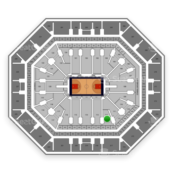 Phoenix Suns at Talking Stick Resort Arena Section 112 View