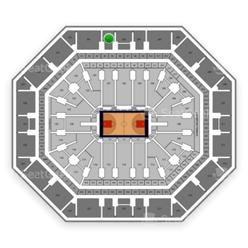 Phoenix Suns at Talking Stick Resort Arena Section 202 View