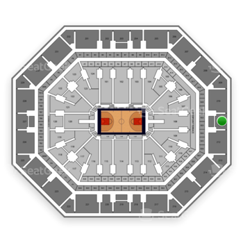 Phoenix Suns at Talking Stick Resort Arena Section 211 View