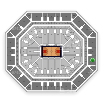 Phoenix Suns at Talking Stick Resort Arena Section 212 View