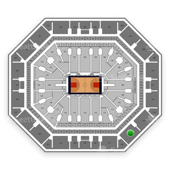 Phoenix Suns at Talking Stick Resort Arena Section 215 View