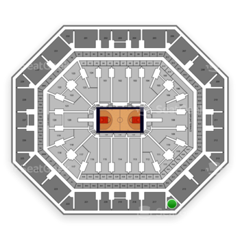 Phoenix Suns at Talking Stick Resort Arena Section 216 View