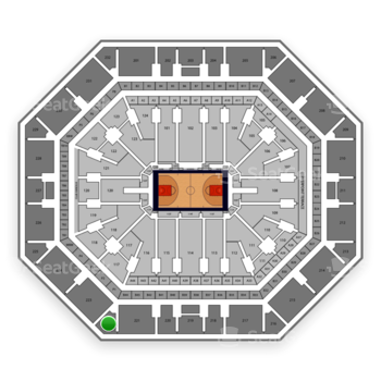 Phoenix Suns at Talking Stick Resort Arena Section 222 View