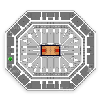 Phoenix Suns at Talking Stick Resort Arena Section 226 View